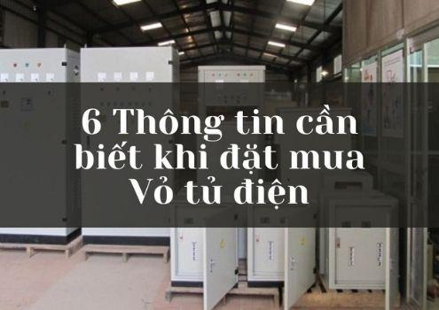 6 thông tin cần biết khi mua Vỏ tủ điện