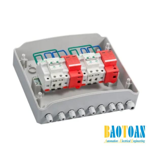 Hộp box đối nối DC solar 550V