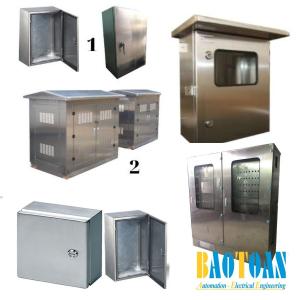 Nhận thiết kế Vỏ tủ điện Inox
