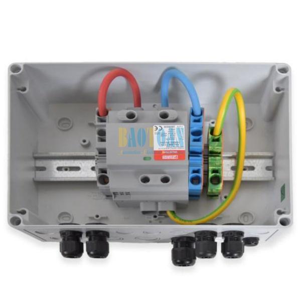 Tủ điện DC Solar 1000V-1 MPPT-6 Strings