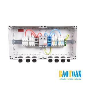 Tủ điện DC Solar 1000V-1 MPPT-9 Strings