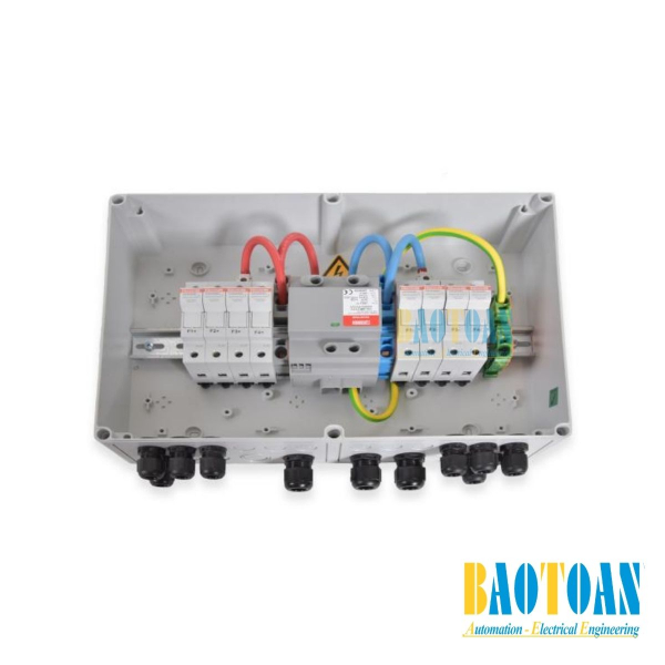Tủ điện DC Solar 1000V–1 MPPT–IN4/OUT1