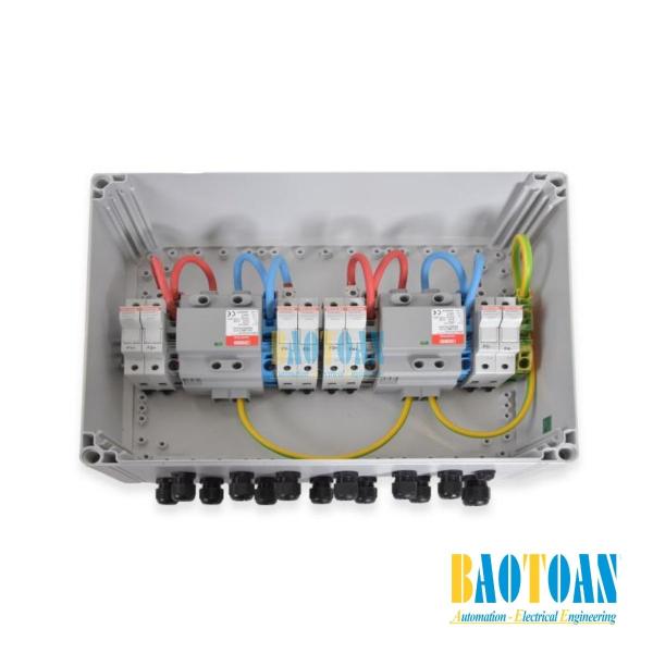 Tủ điện DC Solar 1000V - 2 MPPT - IN2/OUT1