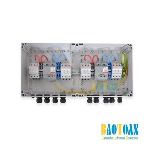 Tủ điện DC Solar 1000V–2 MPPT–IN3/OUT3 or 1