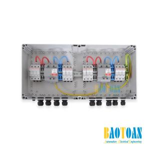 Tủ điện DC Solar 1000V–2 MPPT–IN3/OUT3 or 1