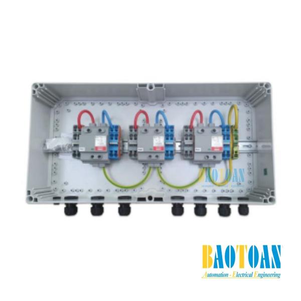 Tủ điện DC Solar 1000V–3 MPPT–IN2/OUT2