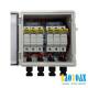 Tủ điện DC Solar 3-String với 6 cầu chì – Có dây sẵn