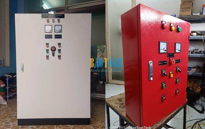Tủ điện điều khiển máy bơm PCCC tại Baotoantech