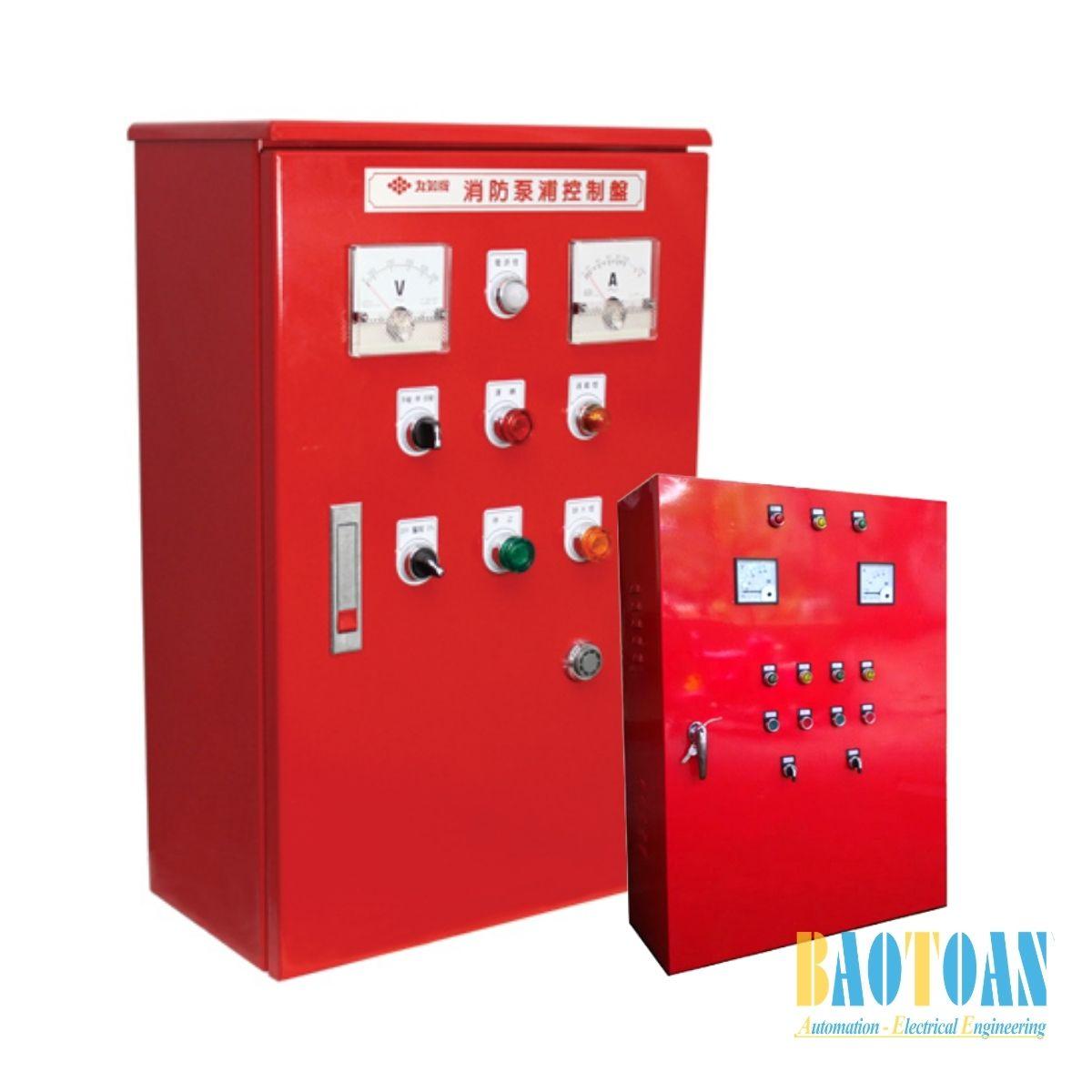 Tủ điện điều khiển máy bơm PCCC-Baotoantech