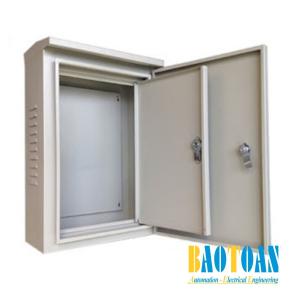 Vỏ tủ điện 2 lớp cửa
