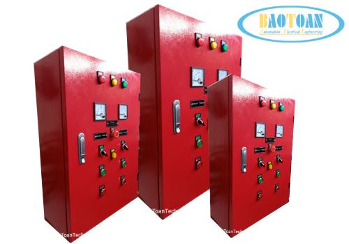 dự án Cung cấp tủ và lắp đặt tủ điện điều khiển Bơm PCCC