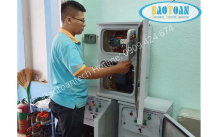 Tủ điện chiếu sáng PLC 1 pha - 3 pha