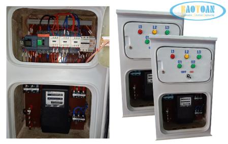 Tủ điện chiếu sáng PLC 1 pha - 3 pha tại Baotoantech
