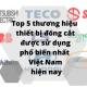 Top 5 thương hiệu thiết bị đóng cắt được sử dụng phổ biến nhất Việt Nam hiện nay