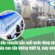 Một dây chuyền sản xuất nước đóng chai tự động hóa cao cần những thiết bị máy móc nào