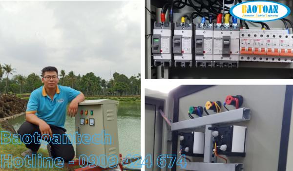 Tủ điều khiển quạt oxy nuôi trồng thủy hải sản